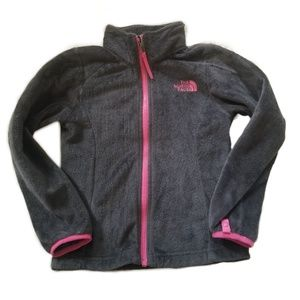 THE NORTH FACE ZIP UP SOFT FLEECE JACKET